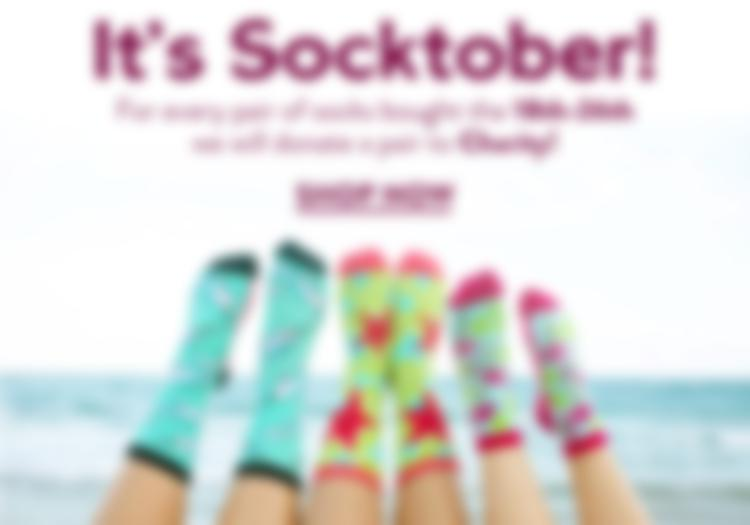 Crew Socks for Socktober