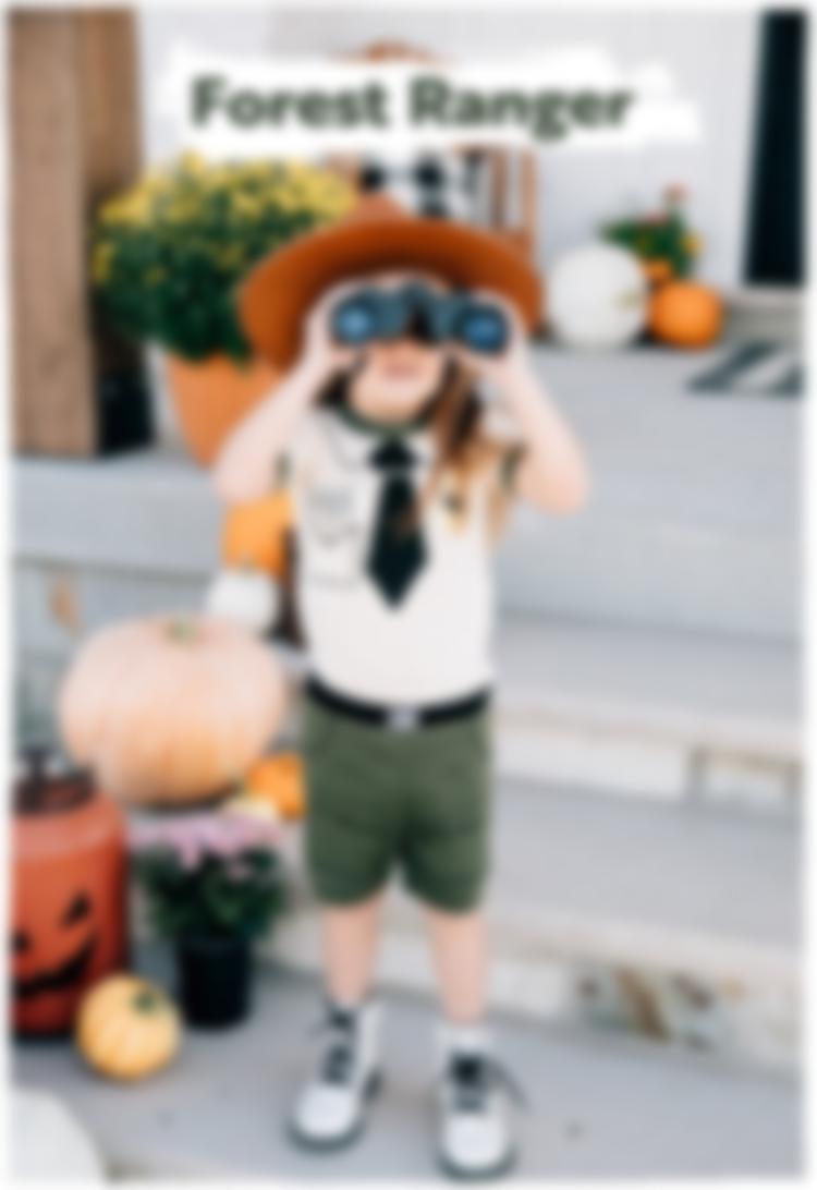 Forest Ranger Costume