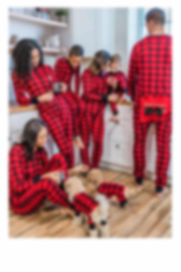 Buffalo Plaid Pajamas and Accessories