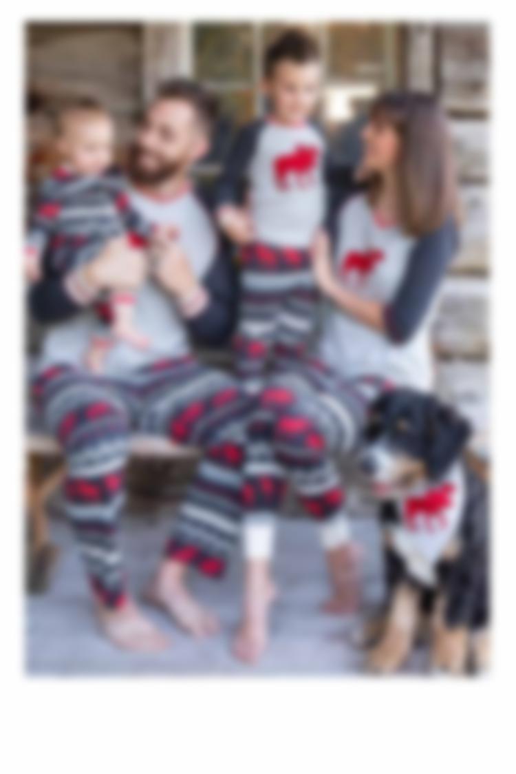 Cabin Moose Pajamas
