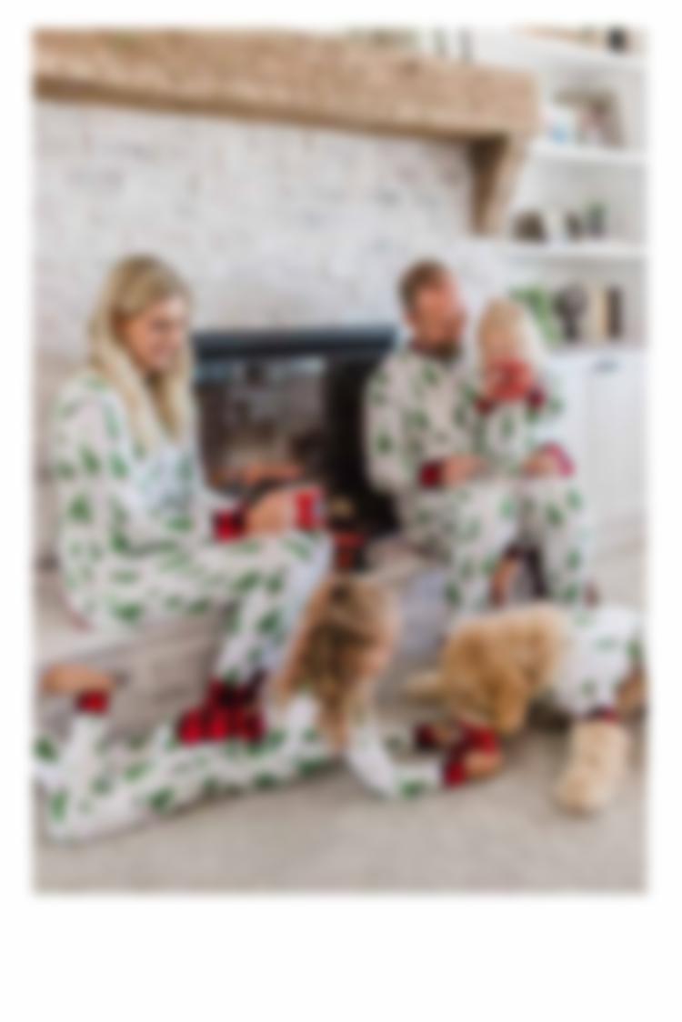 Evergreen Plaid Pajamas