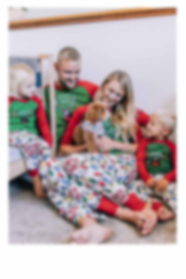 Lights Out Christmas Pajamas