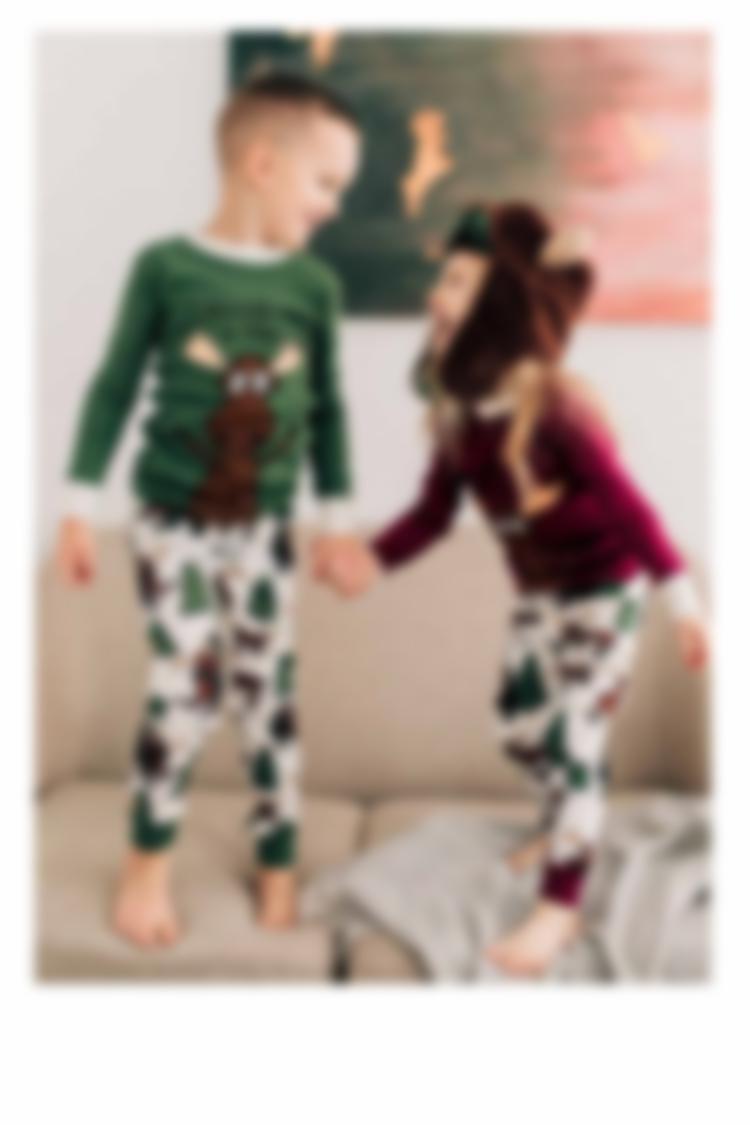 Moose Hug Pajamas