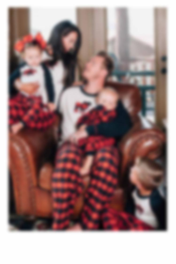 Matching Family PJ Sets - Moose Plaid
