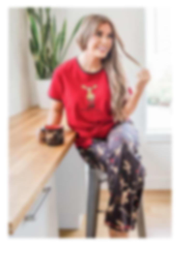 Regular Fit Women's Pajamas