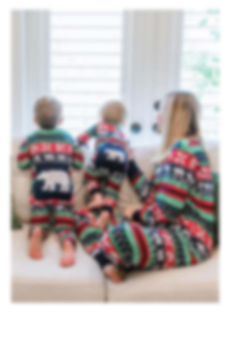 Sweater Bear Pajamas