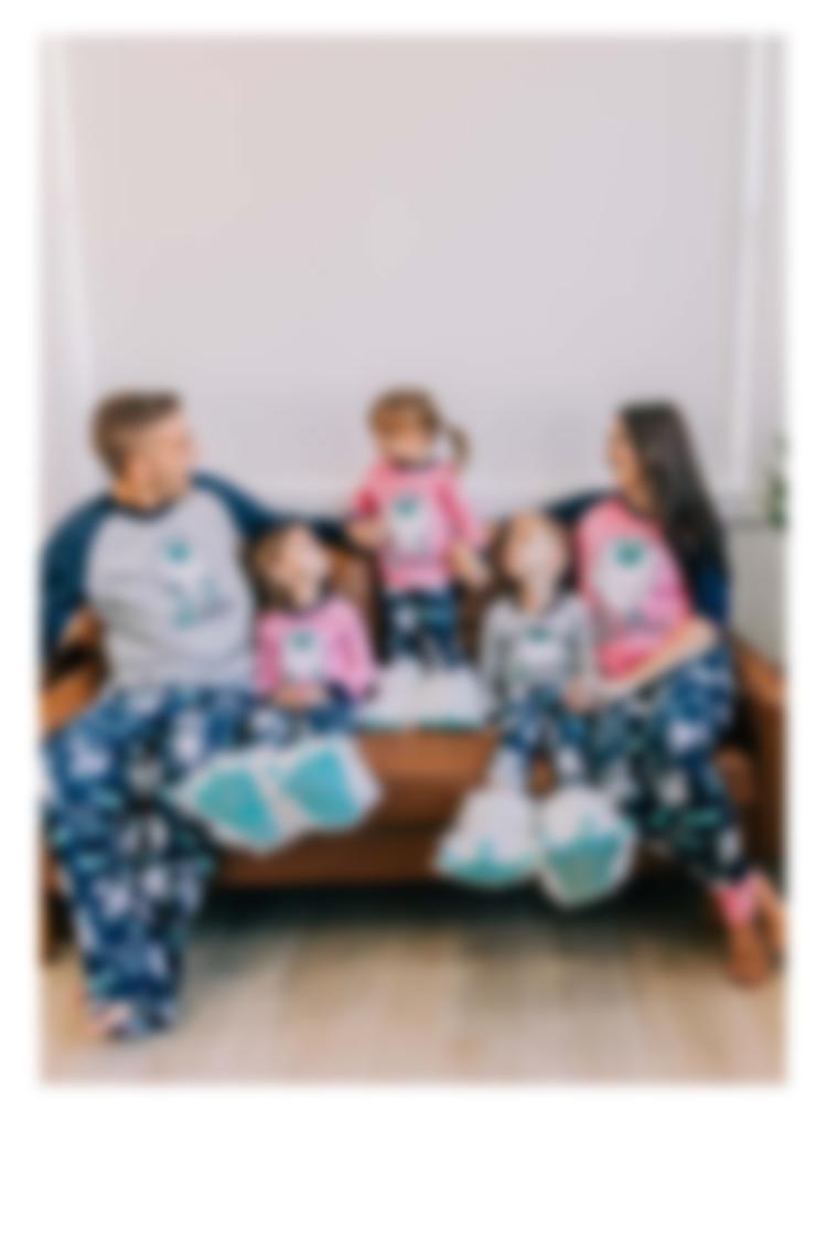 Matching Family Pajama Set - Yeti  for Bed