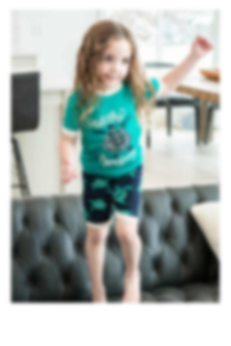Kids shorts pajama sets