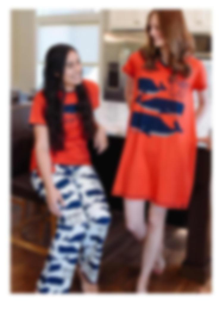 Women's Pajamas - Whales