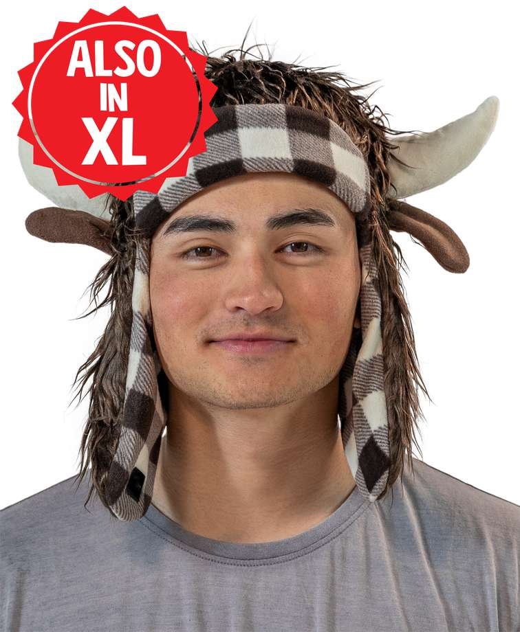 Buffalo Kid and Adult Critter Cap