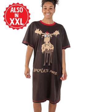 Chocolate Moose Women's Nightshirt
