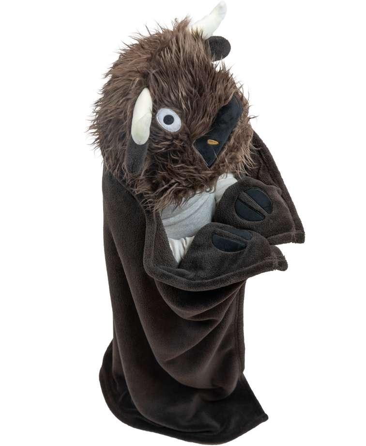 Buffalo Kid's Hooded Blanket