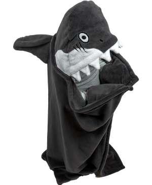 Shark Kid's Hooded Blanket