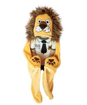 Lion Kid's Hooded Blanket