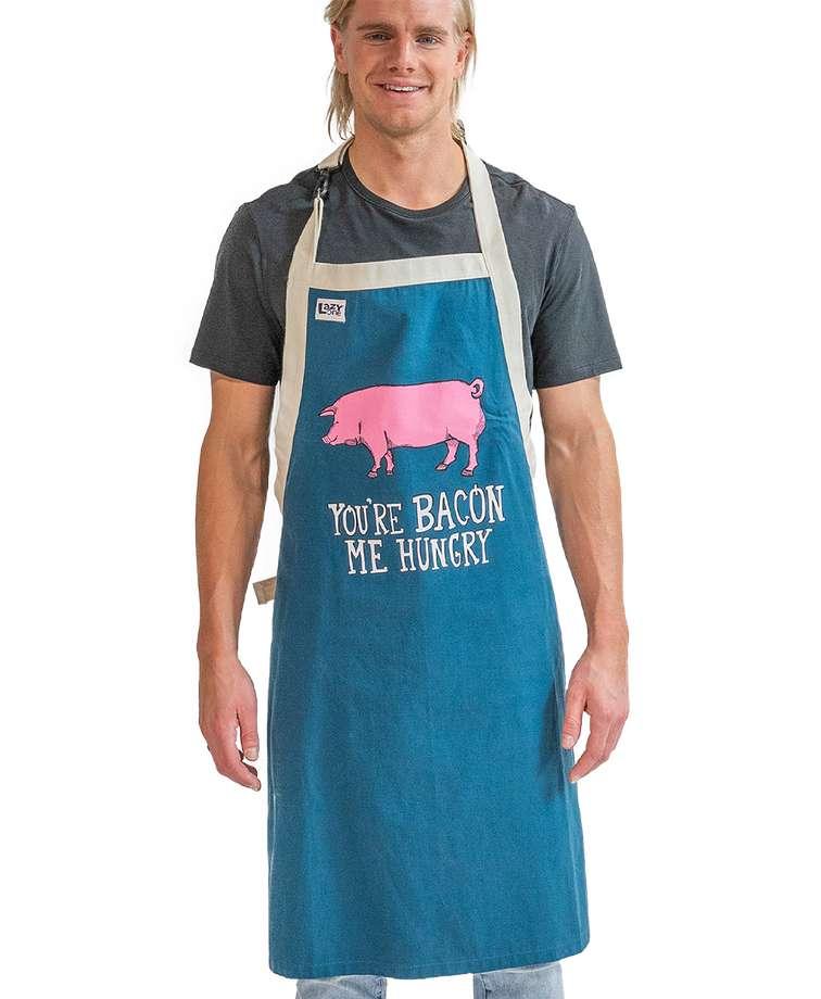 Bacon Me Hungry Pig BBQ Apron