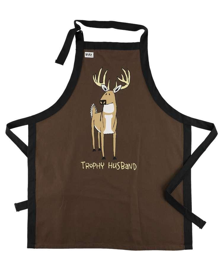 Trophy Husband - Deer | BBQ Apron
