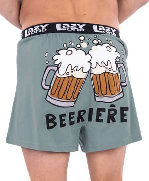 Beeriere Men's Funny Boxer