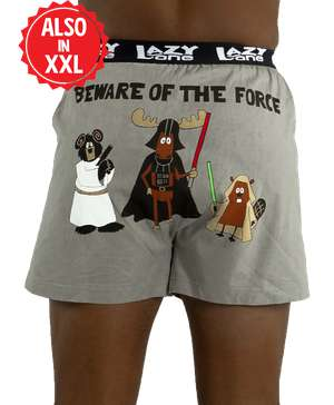 Beware of the Force Men's Funny Boxer