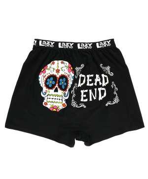 Dead End Men's Skull Funny Boxer