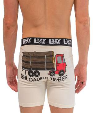 Unloading Timber Men's Boxer Briefs
