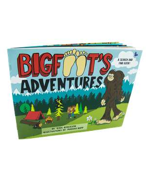 Bigfoot's Adventure Children's Book