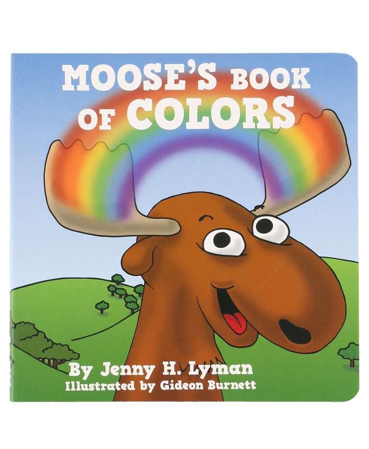Moose's Book of Colors Children's Book
