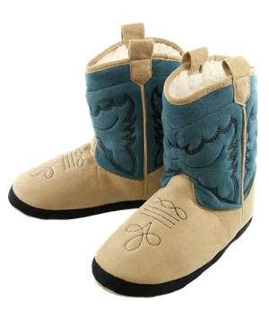 Boy Blue Boot Slipper