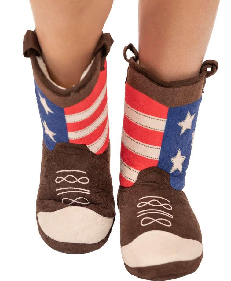America Boot Slipper