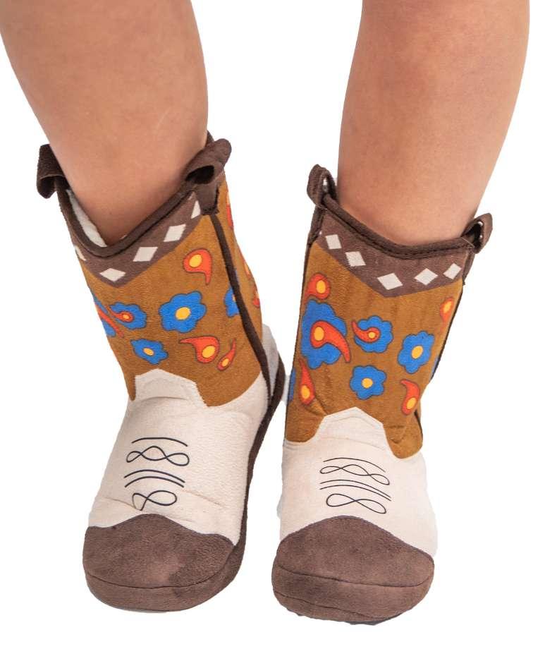 Flower Girl Boot Slipper