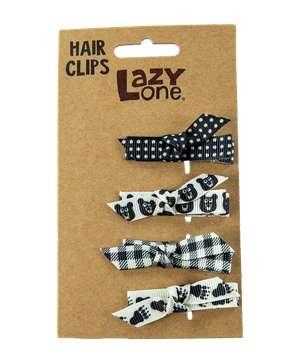 Black Bear Hair Clips