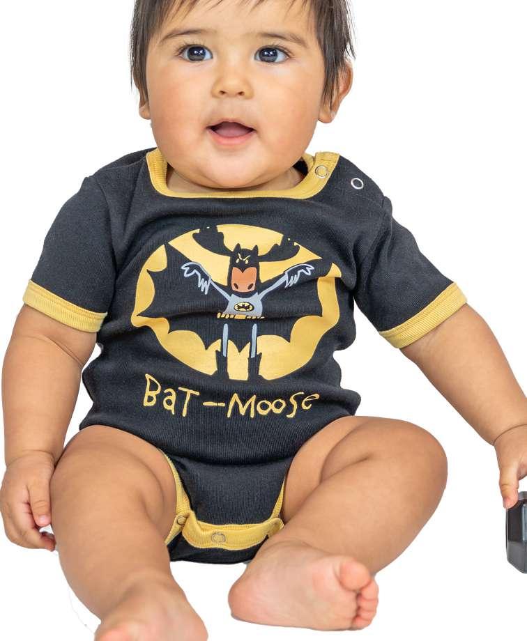Bat Moose Infant Creeper Onesie