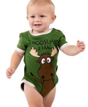 I Moose Have A Hug Boy Infant Creeper Onesie
