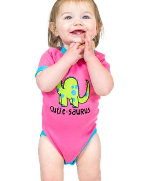 Cutiesaurus Dino Infant Creeper Onesie