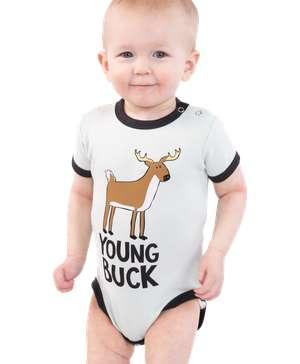 Young Buck Deer Infant Creeper Onesie