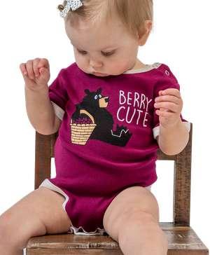 Huckleberry Bear Infant Creeper Onesie