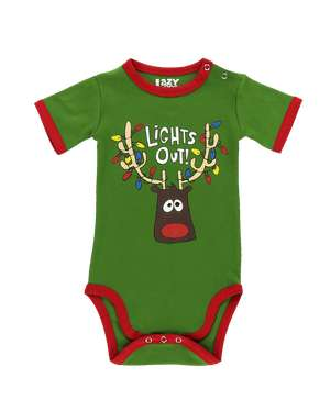 Lights Out Infant Creeper Onesie