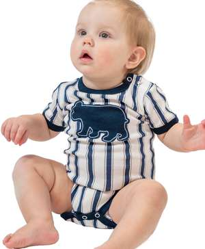Ticking Bear Infant Creeper Onesie