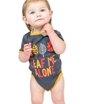 Leaf Me Alone Infant Creeper Onesie