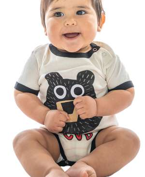 Bear Cub Infant Creeper Onesie
