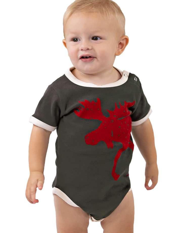 Vintage Moose Infant Creeper Onesies