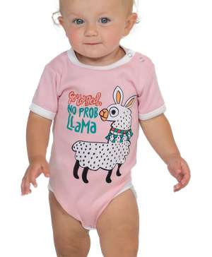 No Prob Llama Infant Creeper Onesie