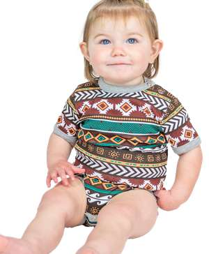 Kokopelli Infant Creeper Onesie