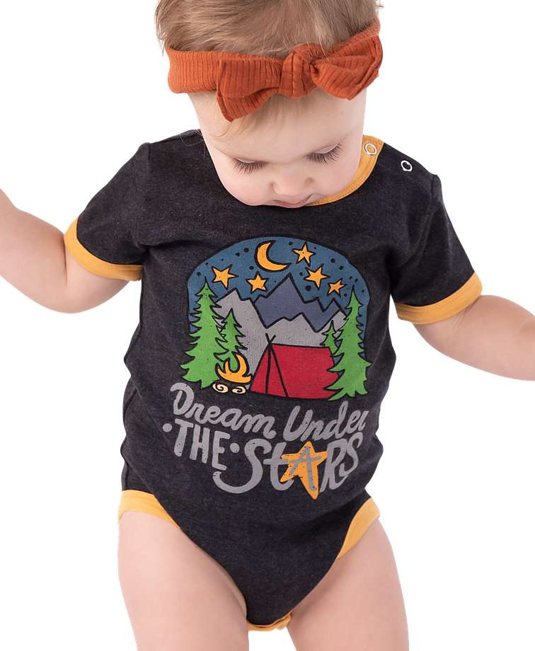 Dream Under The Stars Infant Creeper Onesie