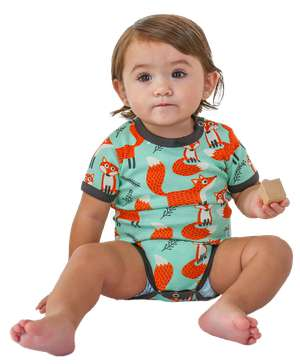 Fox Infant Creeper Onesie