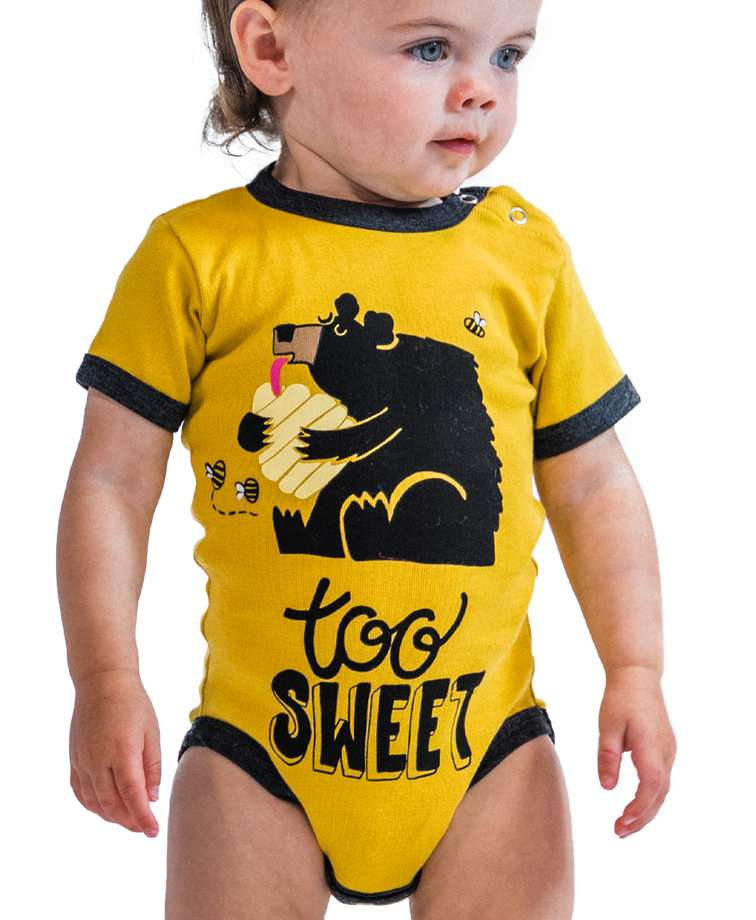 Sweet Dreams Bear Infant Creeper Onesie