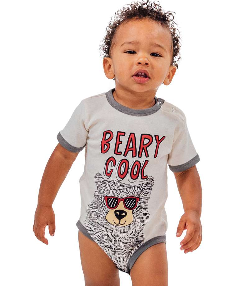 Beary Cool Infant Creeper Onesie
