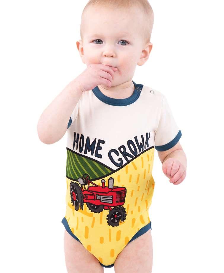 Home Grown Infant Creeper Onesie