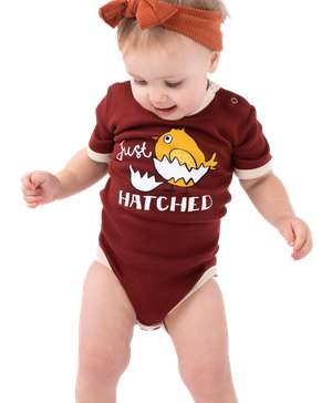 Just Hatched Chicken Infant Creeper Onesie