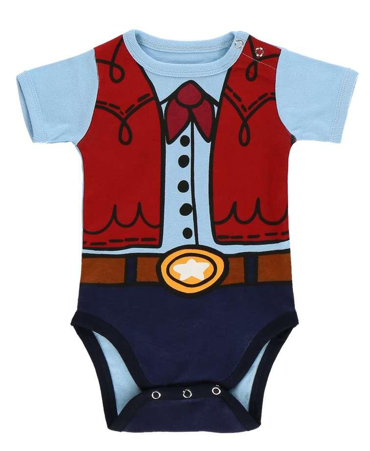 Cowboy Infant Creeper Onesie