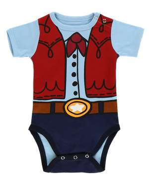 Cowboy Infant Creeper Onesie